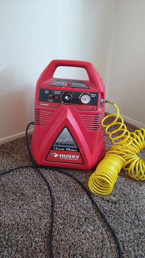 Husky air compressor for Sale in University Place, WA