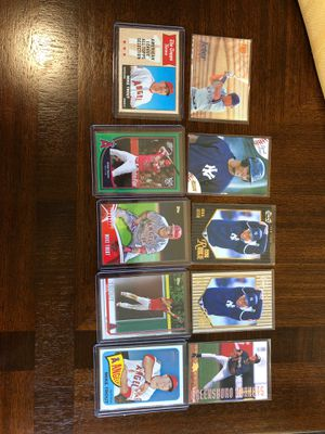 CARDS BASEBALL DEREK JETER MIKE TROUT for Sale in Downey, CA