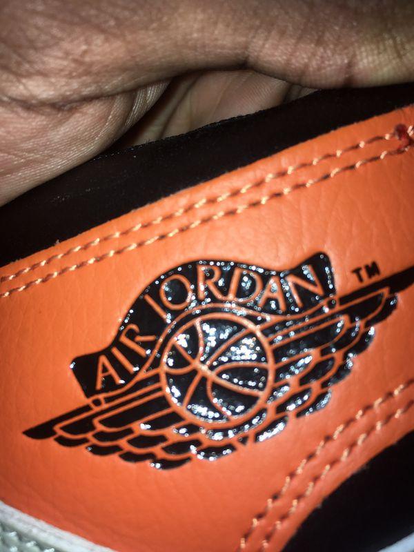 Jordan 1 Reverse Shattered Backboards Size 10