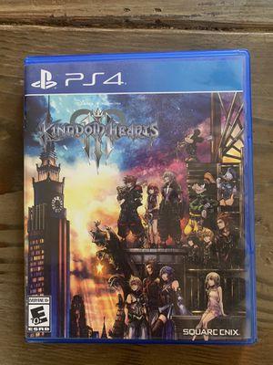 Kingdom Hearts PS4 for Sale in Newman, CA