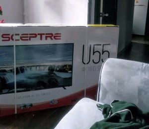 "Sceptre 55"" Class 4K UHD LED TV HDR U550CV-U for Sale in Presque Isle, MI"