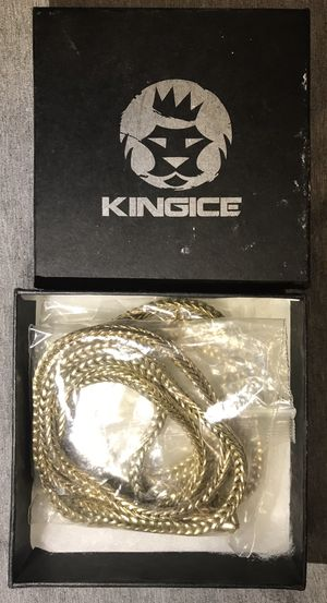 Gold Colored Stainless Steel Franco Chain for Sale in Los Angeles, CA