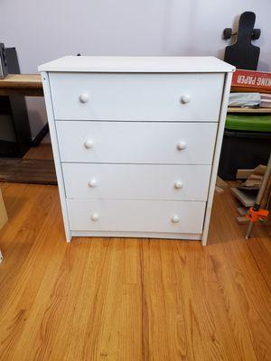 White 4 Door Dresser for Sale in Sully Station, VA