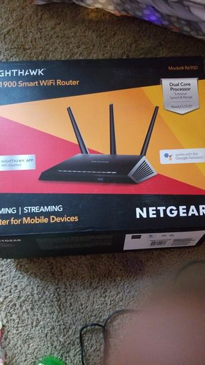 Nighthawk 1900 wifi router for Sale in Murfreesboro, TN