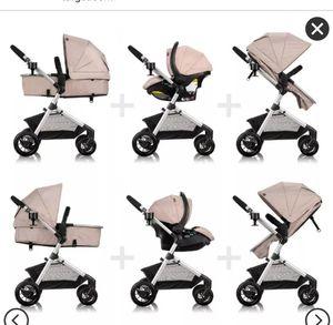 System travel Stroller + car seat *evenflo* for Sale in San Jose, CA