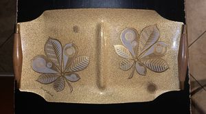"Vintage Mid Century Modern serving tray. Georges Briard. Approximately 15"" x 8.5"". for Sale in Avondale, AZ"