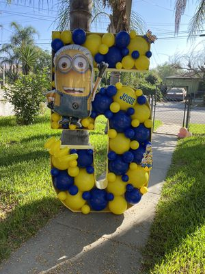 Minions balloon mosaic for Sale in CA, US