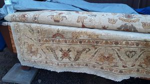 Two Indian rugs; ivory color, excellent shape for Sale in Lakeside, AZ