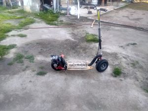 GoPed Bigfoot gas scooter GSR for Sale in Visalia, CA
