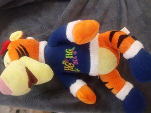 (#4) Christmas Tigger - large - like new Disney / holiday plush stuffed animal for Sale in Naples, FL