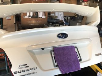 Spoiler Wing Off A Year 2020 Wrx Pearl White Oem for Sale in Humble,  TX