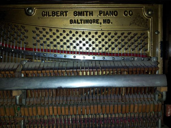 Gilbert upright Piano