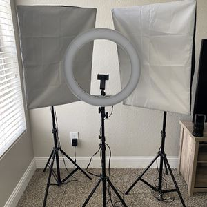 Three Lighting Set Up for Sale in Dallas, TX