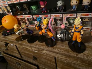 Dragon ball z figures for Sale in Colton, CA