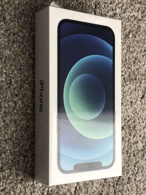 BRAND NEW Sealed Unlocked IPhone 12 5G BLUE 64GB Works With Any Company. 1 year Apple Warranty. Cash only, price is firm. 990 FIRM. for Sale in San Francisco, CA