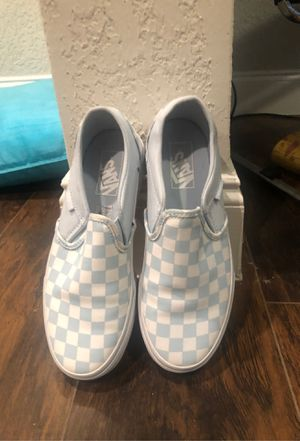 Vans 7 worn once for Sale in Tampa, FL