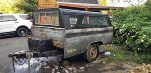 1982 truck bed utility trailer/ camper. for Sale in Longview, WA