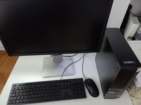Complete Dell system i5-4590 8gb GB 256gb Solid-state
