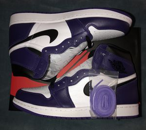 Jordan 1 Court Purple Size 10 BRAND NEW for Sale in Annandale, VA