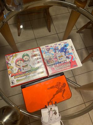 Nintendo 3ds xl with 3 games and the games come with there box for Sale in Sacramento, CA