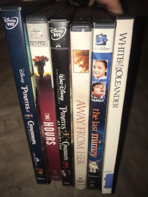 Random lot of 6 Dvds , good used condition Tested and works perfectly Pickup Acton or ships for $3 TAKE ALL FOR $5!! for Sale in Westford, MA