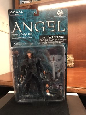 Angel from Angel In leather jacket action figure for Sale in Lincoln, MA
