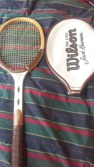 Vintage Wilson pro staff Kramer tennis racket USA made for Sale in Washington, DC
