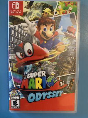 Super Mario Odyssey Nintendo Switch for Sale in Portland, OR