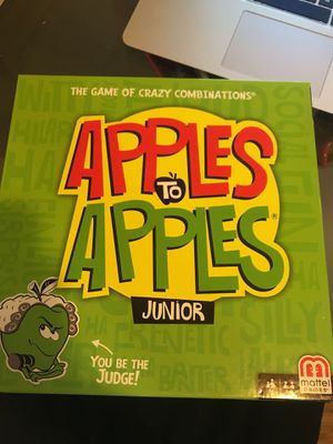Board game - Apples to Apples jr for Sale in Brooklyn, NY