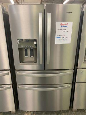 🔖 New Whirlpool stainless steel 4 door refrigerator 💣 for Sale in Phoenix, AZ