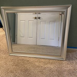 Silver Framed Mirror for Sale in Mission Viejo, CA
