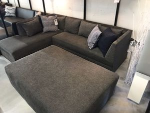MOVIE NIGHT L shaped sectional sofa couch TRANSFORMER for Sale in Hialeah, FL