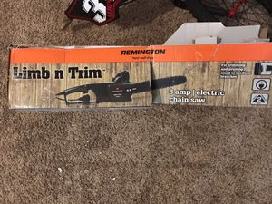 Remington 8 Amp Limb N Trim Electric chain saw for Sale in Pickerington, OH