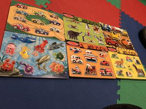 Melissa and Doug puzzles for Sale in Gaithersburg, MD