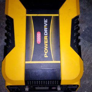Power Drive 2000 Watt Inverter for Sale in Clarksburg, WV