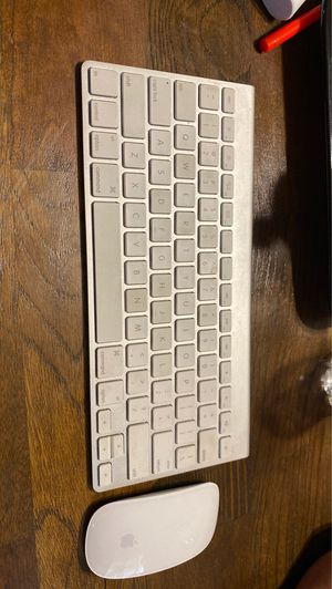 Apple keyboard with mouse for Sale in Fullerton, CA