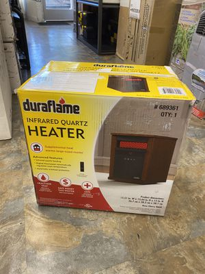 Duraflame - Infrared Quartz Heater in Rose Cherry Finish for Sale in Los Angeles, CA