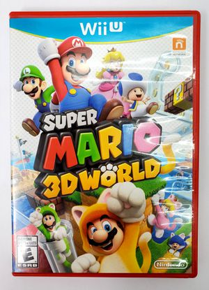 Nintendo WiiU - Super Mario 3D World (2013) - CIB for Sale in Trenton, NJ