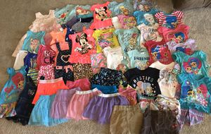70 piece girls 2T spring/summer clothes lot for Sale in Tolleson, AZ