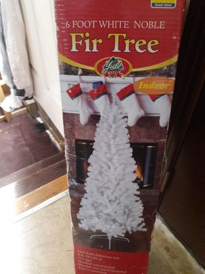 Brand New 6 foot white tree for Sale in Newport News, VA