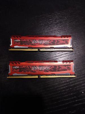 Ballistix sport DDR4 ram red for Sale in Bala Cynwyd, PA