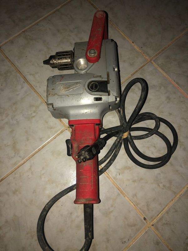 "MILWAUKEE HOLE HAWG 1/2""DRILL"
