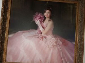 Beautiful dusty rose quinceñera dress for Sale in Fort Worth, TX