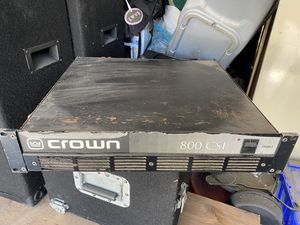Crown Amp 800 CSL for Sale in Los Angeles, CA