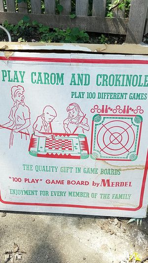 Carom and crokinole game board for Sale in Saint Paul, MN