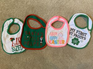 Baby holiday bibs for Sale in Naperville, IL