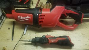 Milwaukee vacuum and soldering iron for Sale in Daly City, CA