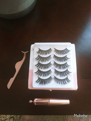5 Pair Magnetic Eyelashes (Doha) for Sale in Madison, AL