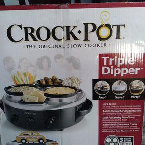 Crock Pot Tripple Dipper for Sale in Fort Lauderdale, FL