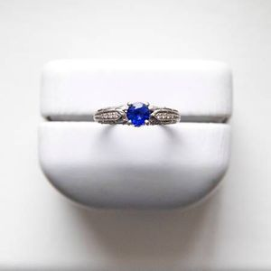 Beautiful Dark Blue Sapphire And Diamond Ring for Sale in Laurel, MD
